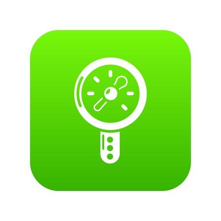 Pressure indicator icon. Simple illustration of pressure indicator vector icon for web