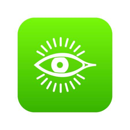 Eye icon. Simple illustration of eye vector icon for web Illustration