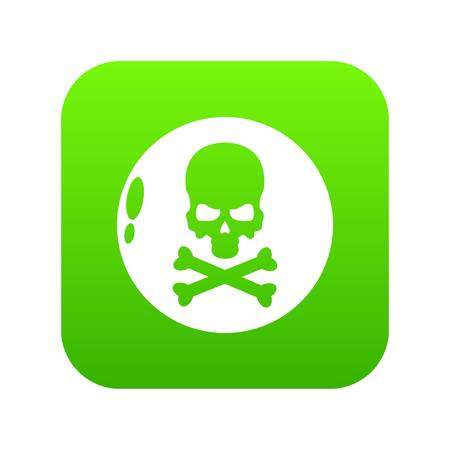 Danger icon. Simple illustration of danger vector icon for web