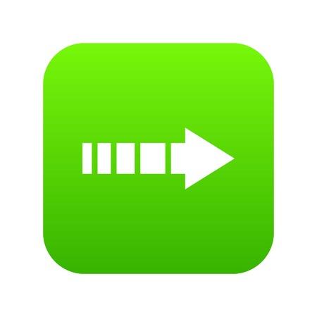 Cursor icon digital green