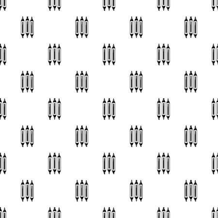 Marker pen icon, simple black style