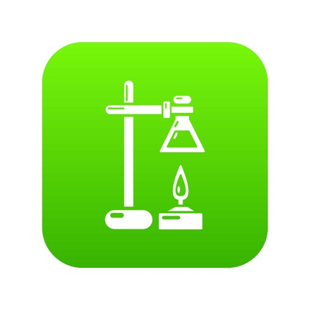 Chemical process icon, simple black style Banque d'images - 102676071