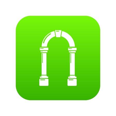 Archway concrete icon, simple black style