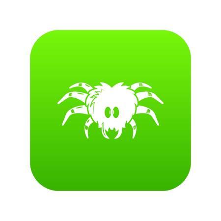 Tarantula icon, simple black style