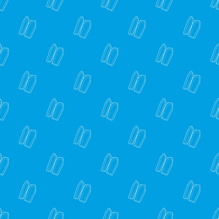 Coffin pattern vector seamless blue