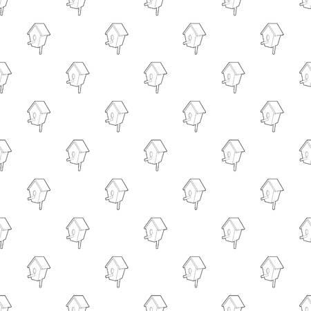 Nesting box pattern vector seamless
