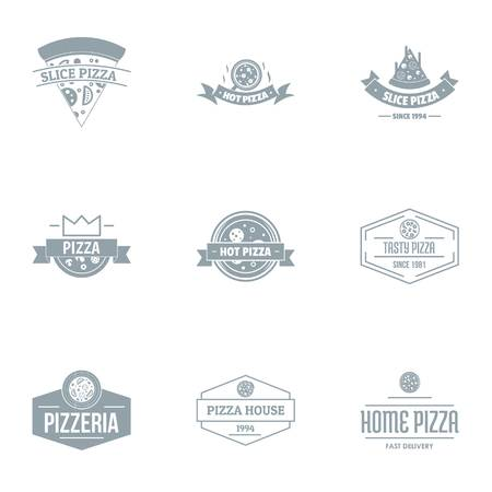 Pizza parlor   set, simple style