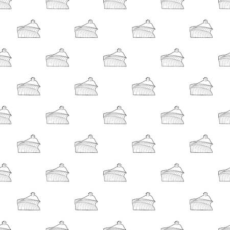 French field pattern vector seamless