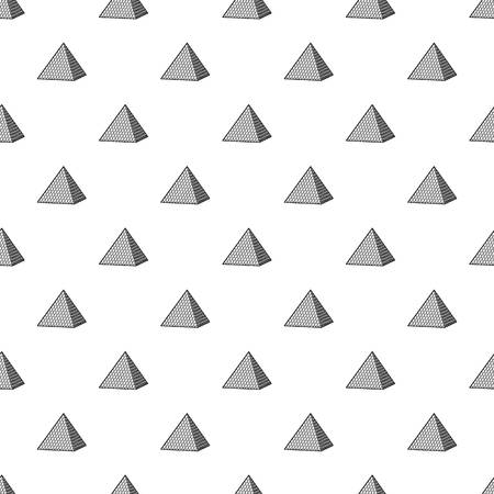pyramid pattern vector seamless