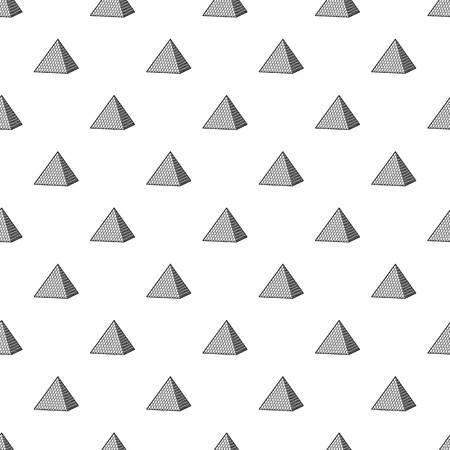 pyramid pattern vector seamless