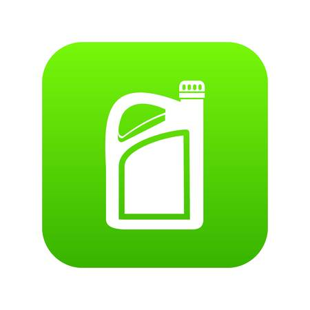 Jerrycan icon digital green
