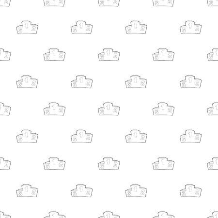 Podium pattern vector seamless