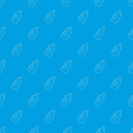 Insecticide spray pattern vector seamless blue repeat for any use