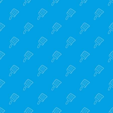 Swatter pattern vector seamless blue repeat for any use Stock Vector - 103339548