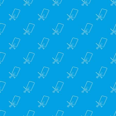 Gadget after reparation pattern vector seamless blue