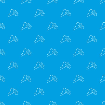 Studio retro microphone pattern vector seamless blue