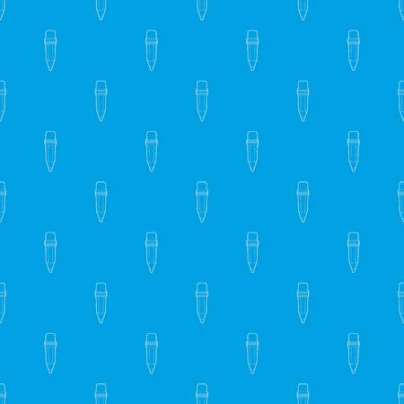 Pencil pattern vector seamless blue repeat for any use Illustration