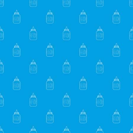 Glue pattern vector seamless blue repeat for any use Ilustração