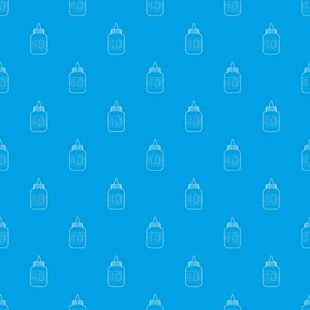 Glue pattern vector seamless blue repeat for any use Illustration