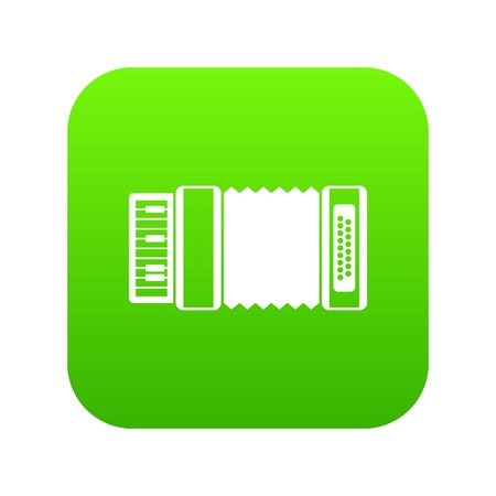 Accordion icon digital green