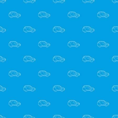 Car air ventilation pattern vector seamless blue