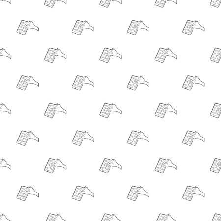 Gadget in reparation icon, outline style Illusztráció