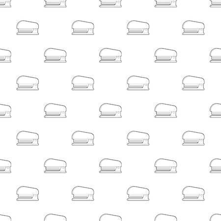 Icône de l'agrafeuse. Illustration de contour de l'icône de vecteur d'agrafeuse pour la conception web