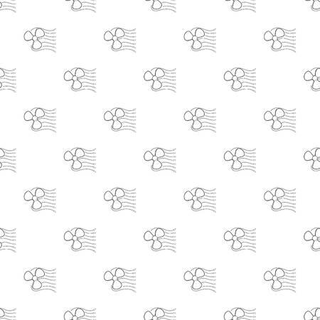 Ventilator icon. Outline illustration of ventilator icon for web design 일러스트