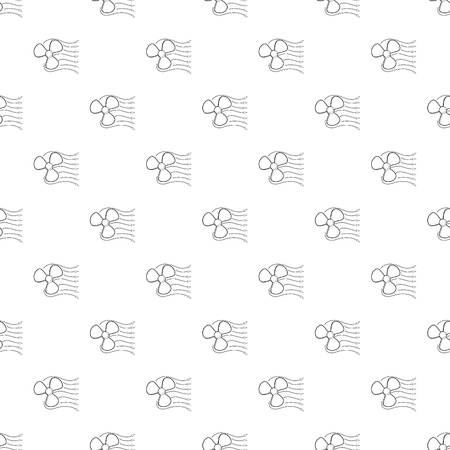 Ventilator icon. Outline illustration of ventilator icon for web design Illustration
