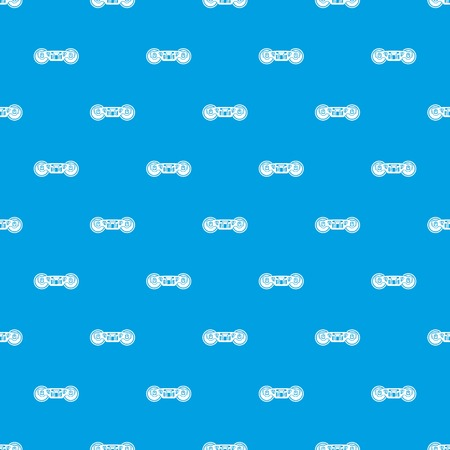 Train wheels pattern vector seamless blue repeat for any use