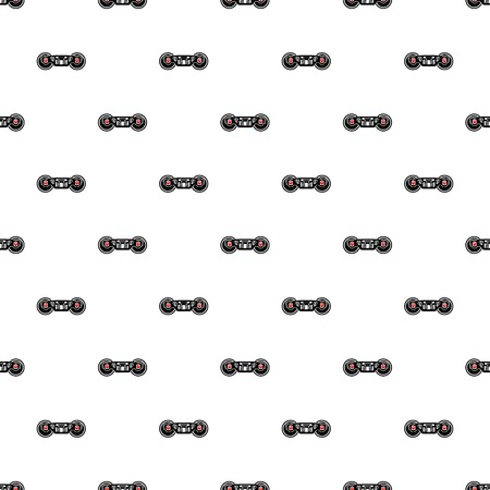 Train wheels icon in simple style isolated on white background