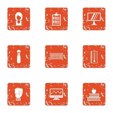Certificering pictogrammen instellen. Grunge set van 9 certificering vector iconen voor web geïsoleerd op een witte achtergrond