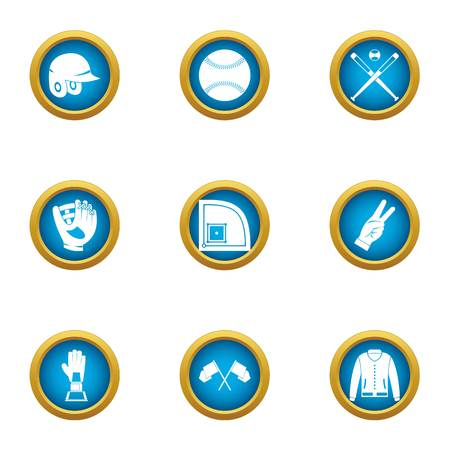Boast icons set. Flat set of 9 boast vector icons for web isolated on white background