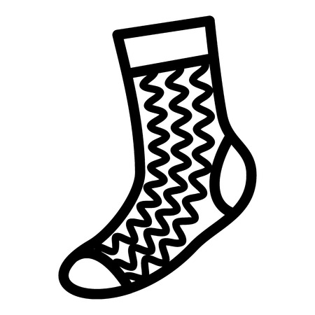 5244 Wearing Socks Stock Vector Illustration And Royalty Free
