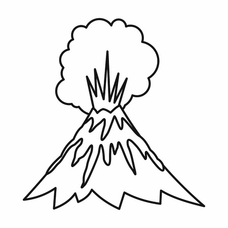 Volcano erupting icon in outline style isolated illustration stock volcano erupting icon in outline style isolated illustration stock photo picture and royalty free image image 105976605 maxwellsz
