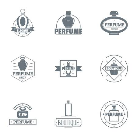 Scent of a woman set, simple style Vectores