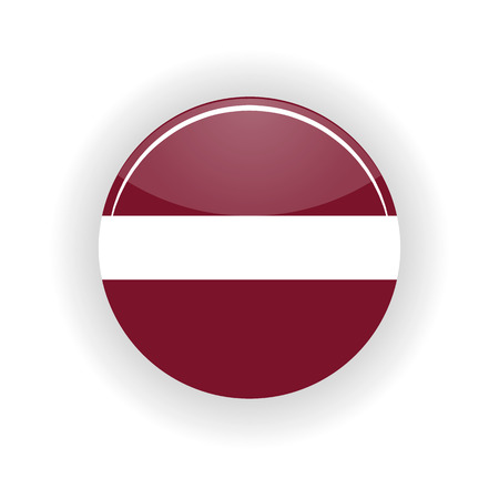 Latvia icon circle