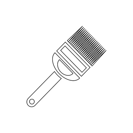 Fork for uncapping honeycombs icon, outline style
