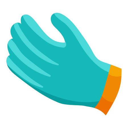 Glove icon, cartoon style 스톡 콘텐츠