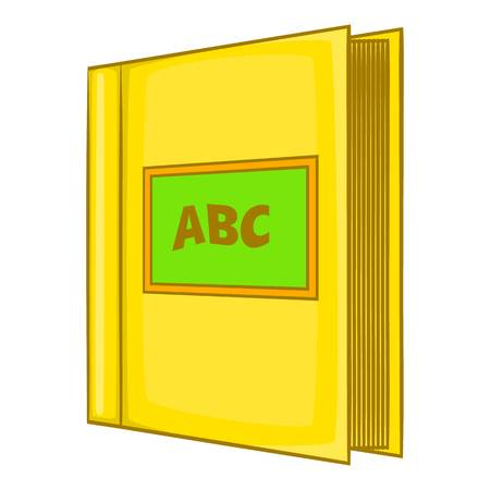 Abc book icon, cartoon style 版權商用圖片
