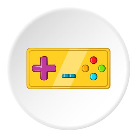 Joystick icon, cartoon style Stock Photo