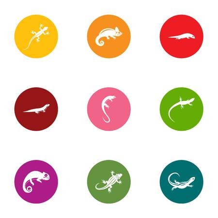 Raptor icons set. Flat set of 9 raptor vector icons for web isolated on white background 版權商用圖片 - 111906113