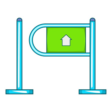 Fencing system icon. Flat illustration of fencing system icon for web Banco de Imagens