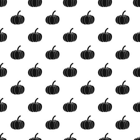 Pumpkin pattern, simple style