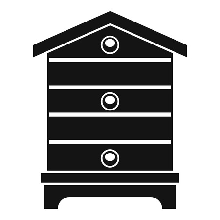 Hive icon, simple style Banco de Imagens