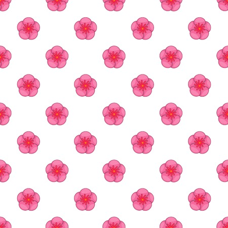The Rose of Sharon pattern, cartoon style