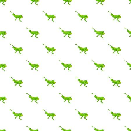 Grasshopper pattern, cartoon style