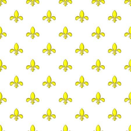 Knight ornament pattern, cartoon style