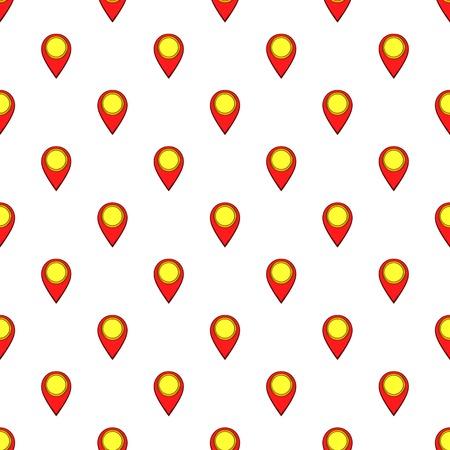 GPS pattern. Cartoon illustration of GPS pattern for web