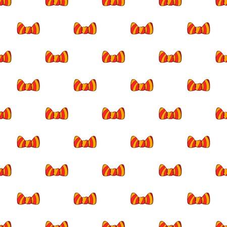 Butterfly tie pattern. Cartoon illustration of butterfly tie pattern for web